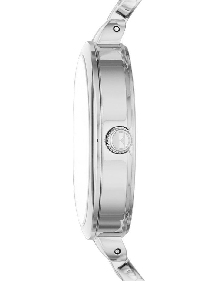 Wagram Silver-Tone Analogue Watch image 3