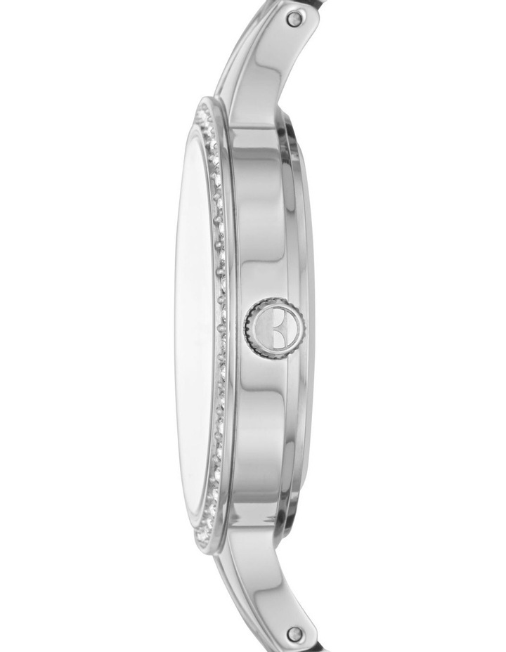 Alesia Silver-Tone Analogue Watch image 3