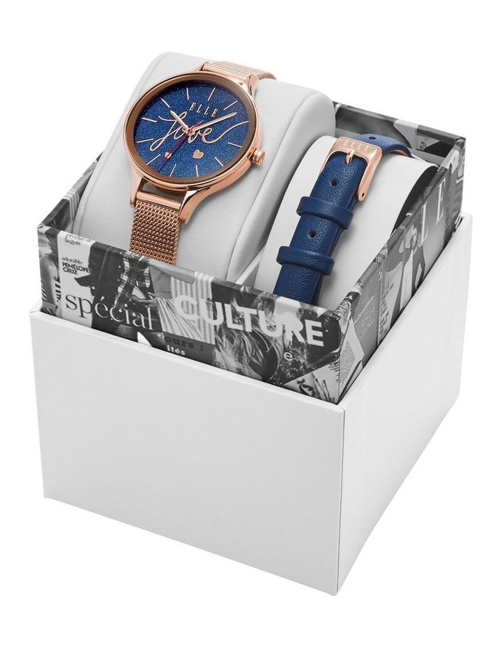 Ternes Rose Gold-Tone Analogue Watch image 4
