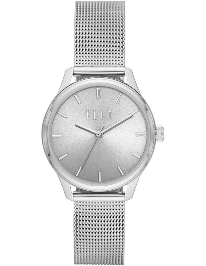 Monceau Silver-Tone Analogue Watch image 1