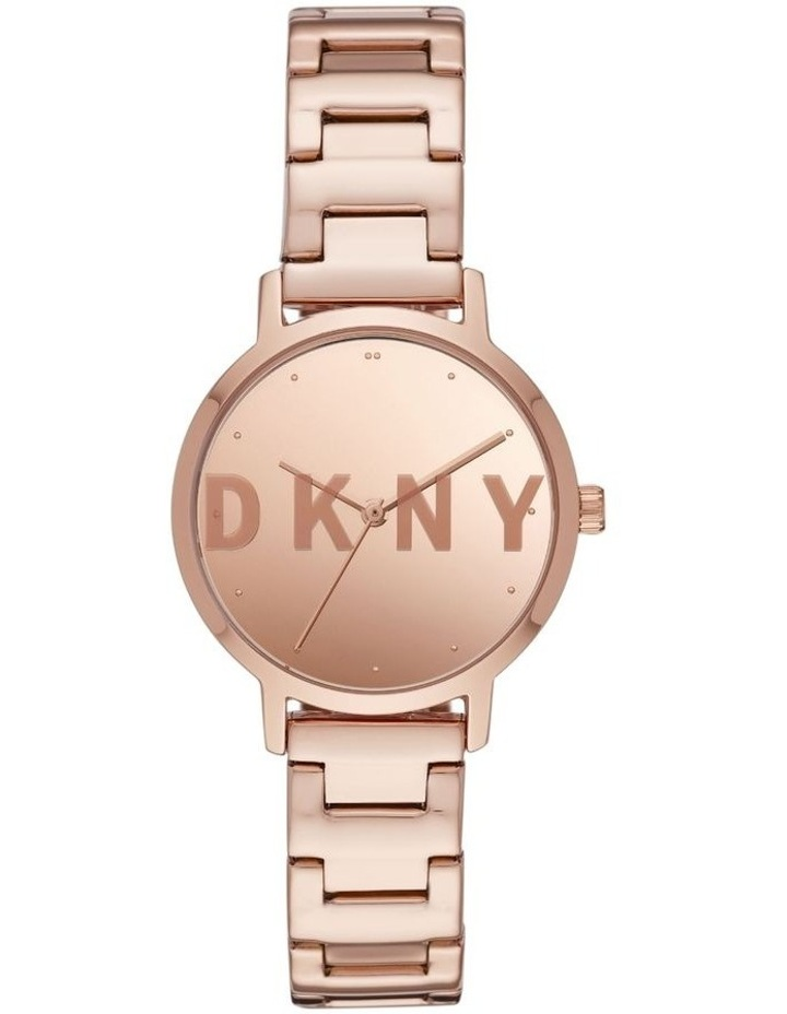 The Modernist Rose Gold-Tone Analogue Watch image 1