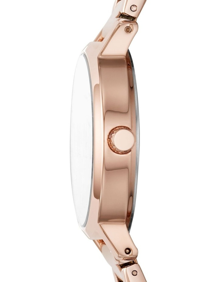 The Modernist Rose Gold-Tone Analogue Watch image 3