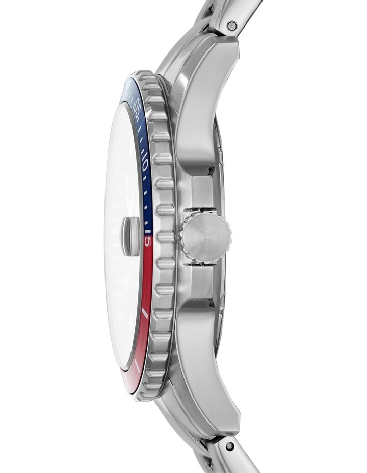 Fb-01 Silver-Tone Analogue Watch image 3