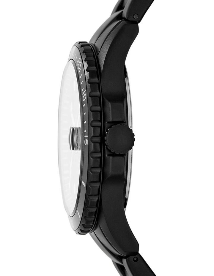 Fb-01 Black Analogue Watch image 3