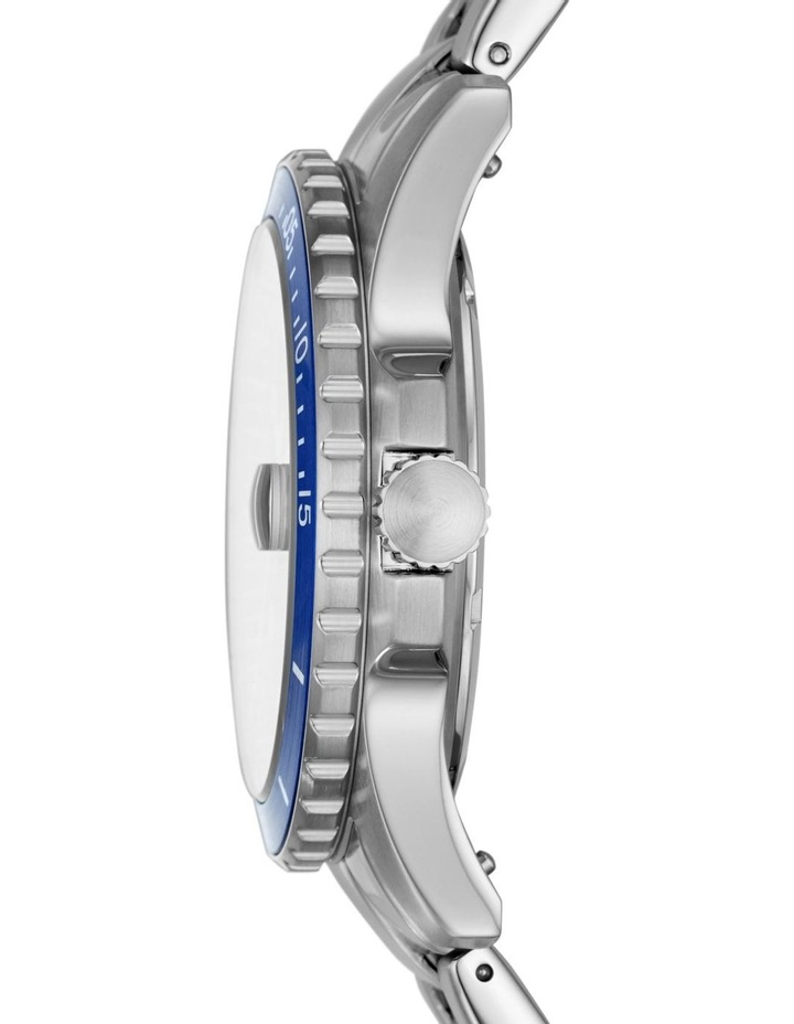 Fb-01 Silver-Tone Analogue Watch image 3