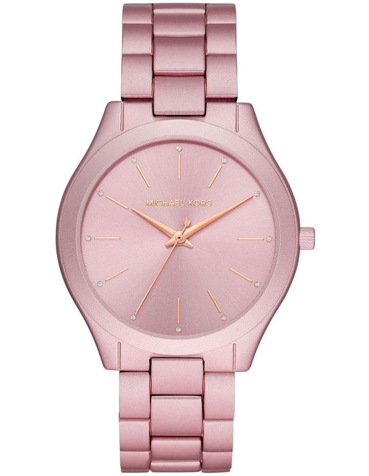 Slim Runway Pink Analogue Watch image 1
