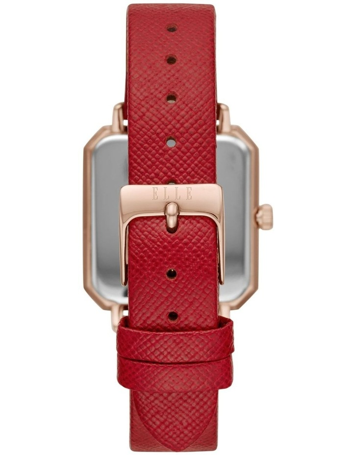 Clichy Red Analogue Watch image 2