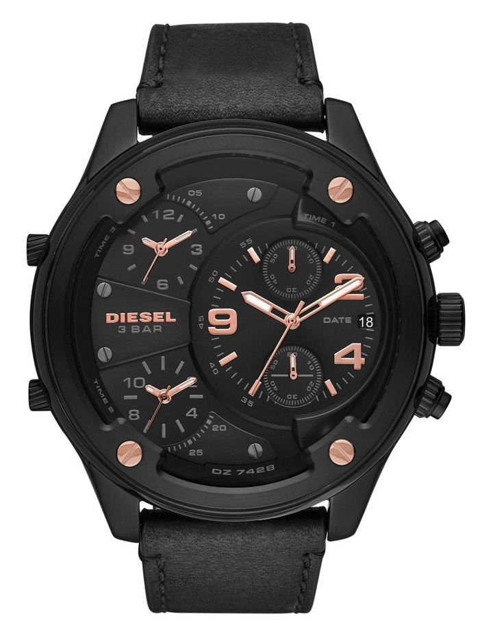 Boltdown Black Chronograph Watch image 1