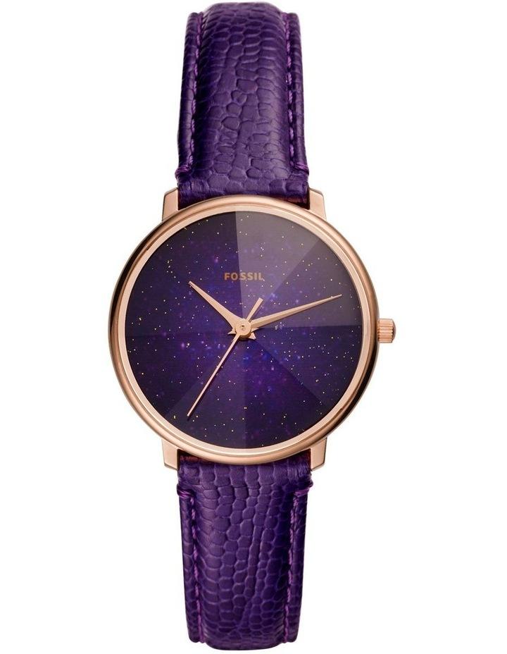Prismatic Galaxy Purple Analogue Watch image 1