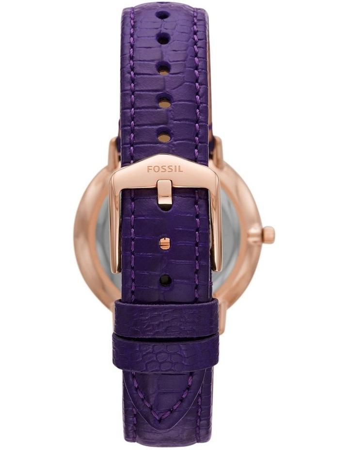 Prismatic Galaxy Purple Analogue Watch image 2