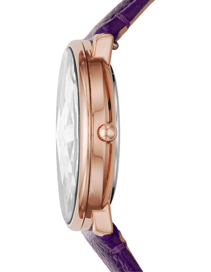 Prismatic Galaxy Purple Analogue Watch image 3