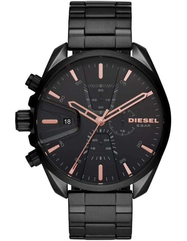 MS9 Black Chronograph Watch image 1