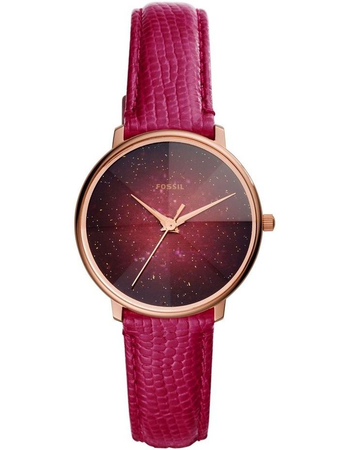 Prismatic Galaxy Red Analogue Watch image 1