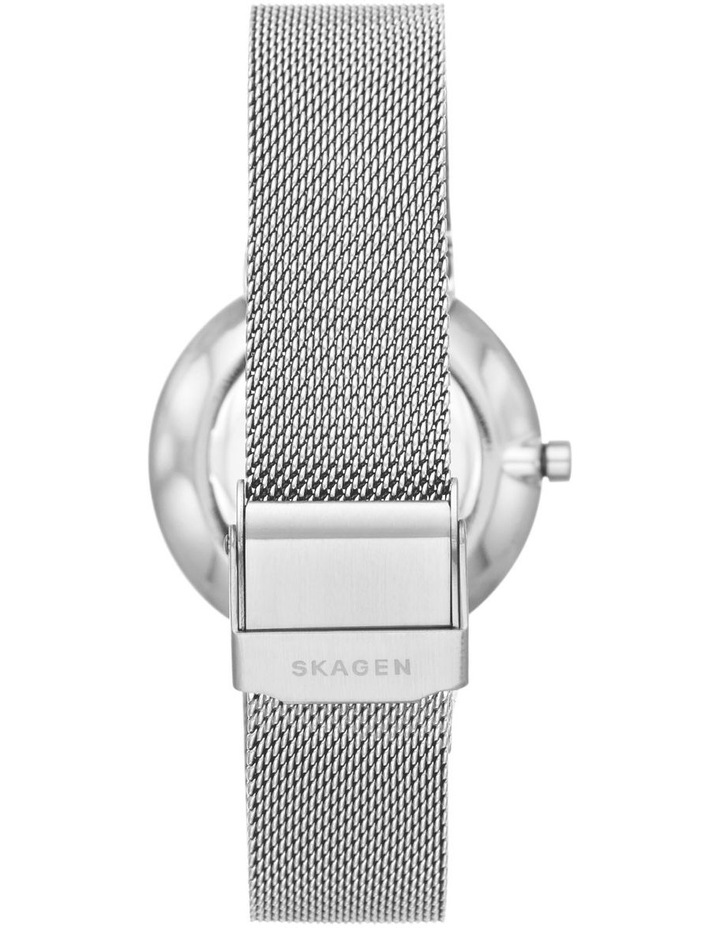 Annelie Silver-Tone Analogue Watch image 2