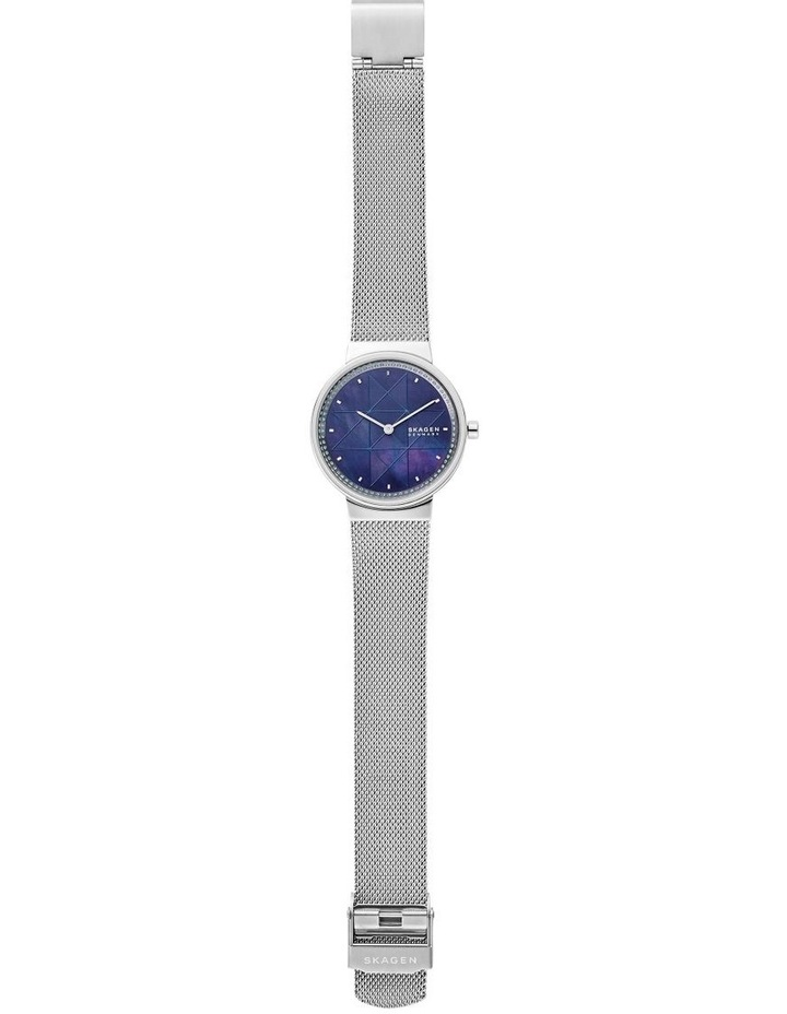 Annelie Silver-Tone Analogue Watch image 4