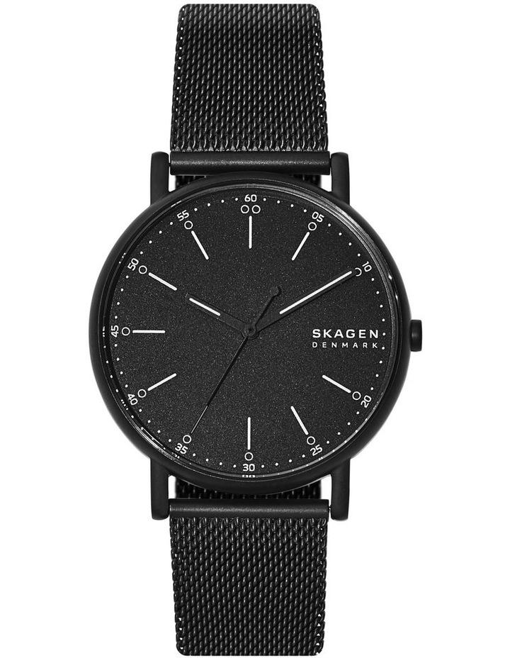 Signatur Black Analogue Watch image 1