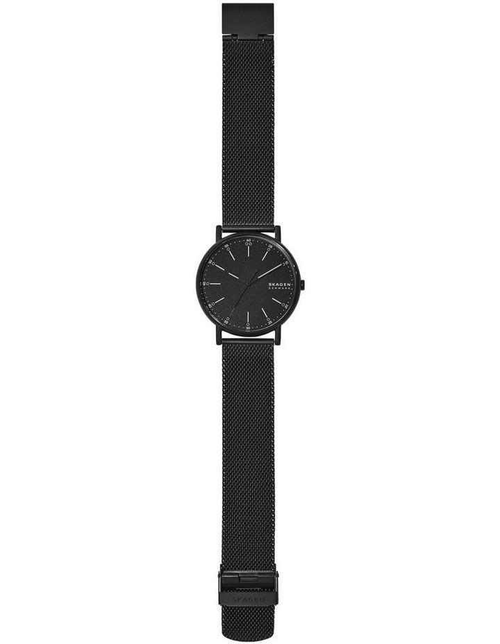 Signatur Black Analogue Watch image 4