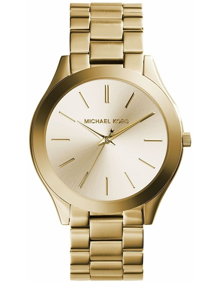 Runway Gold-Tone Analogue Watch image 1