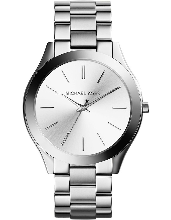 Runway Silver-Tone Analogue Watch image 1