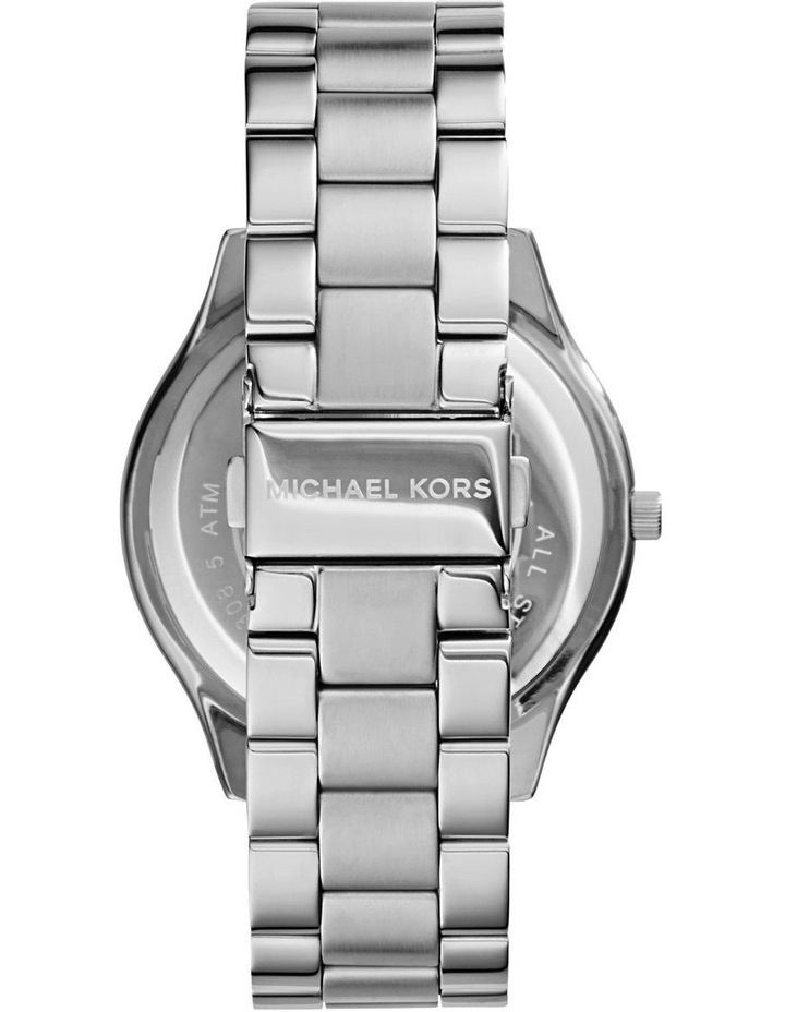 Runway Silver-Tone Analogue Watch image 2