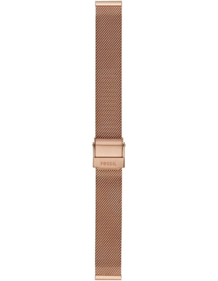 14mm Rose Gold-Tone Watch Strap image 1