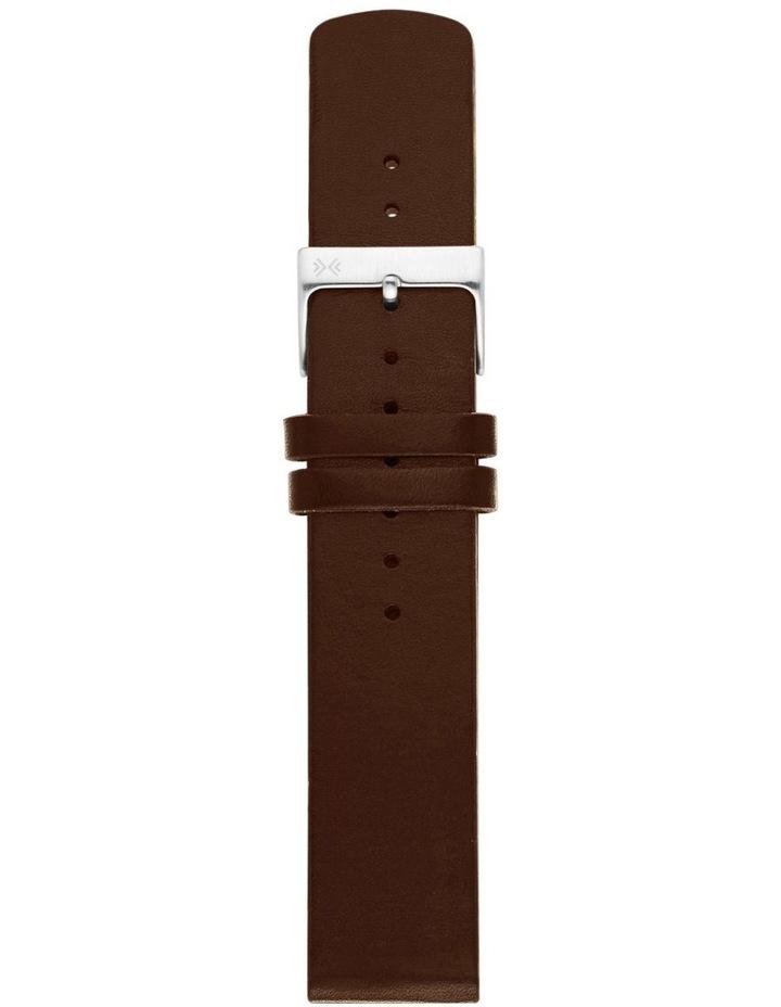 20mm Dark Brown Watch Strap image 1