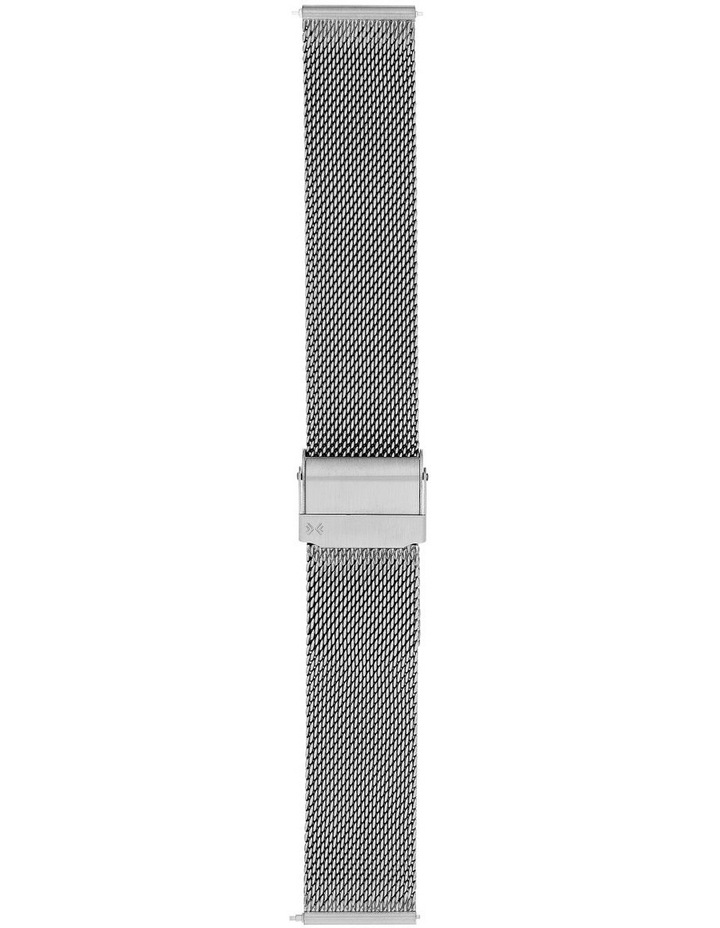 20mm Silver-Tone Watch Strap image 1