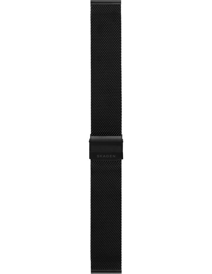 20mm Black Watch Strap image 1