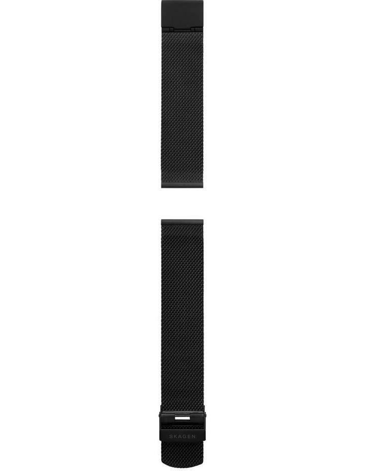 20mm Black Watch Strap image 2
