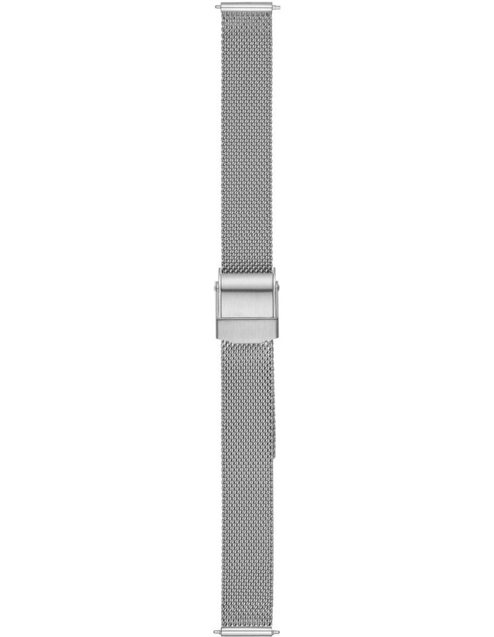 12mm Silver-Tone Watch Strap image 1