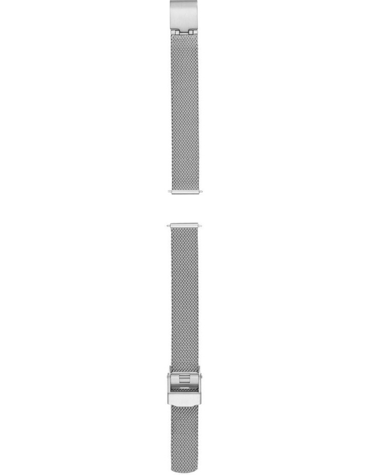 12mm Silver-Tone Watch Strap image 2