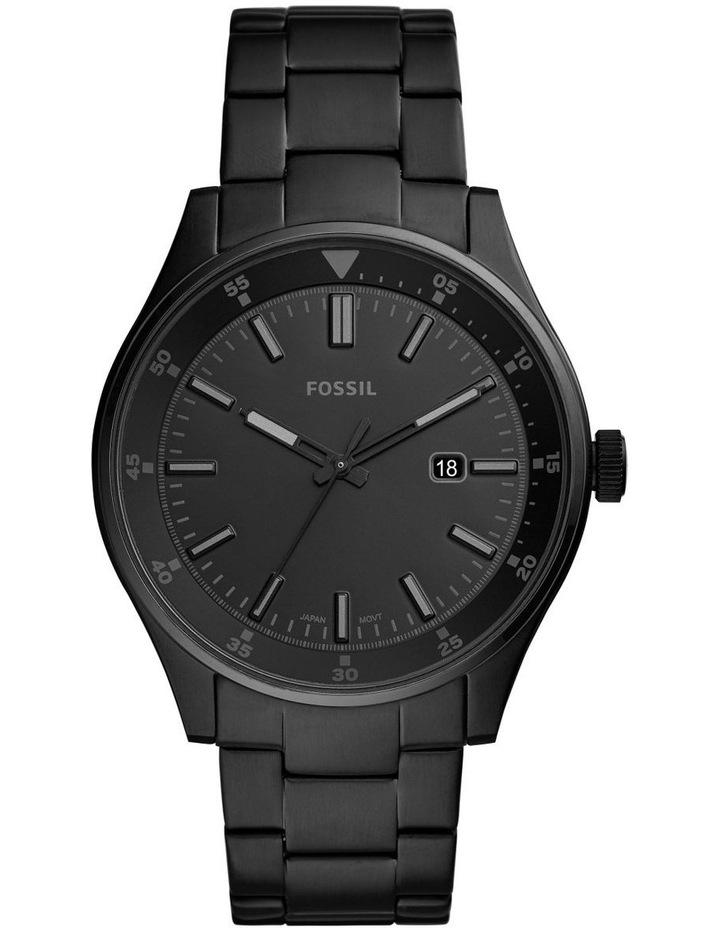 Belmar Black Analogue Watch image 1