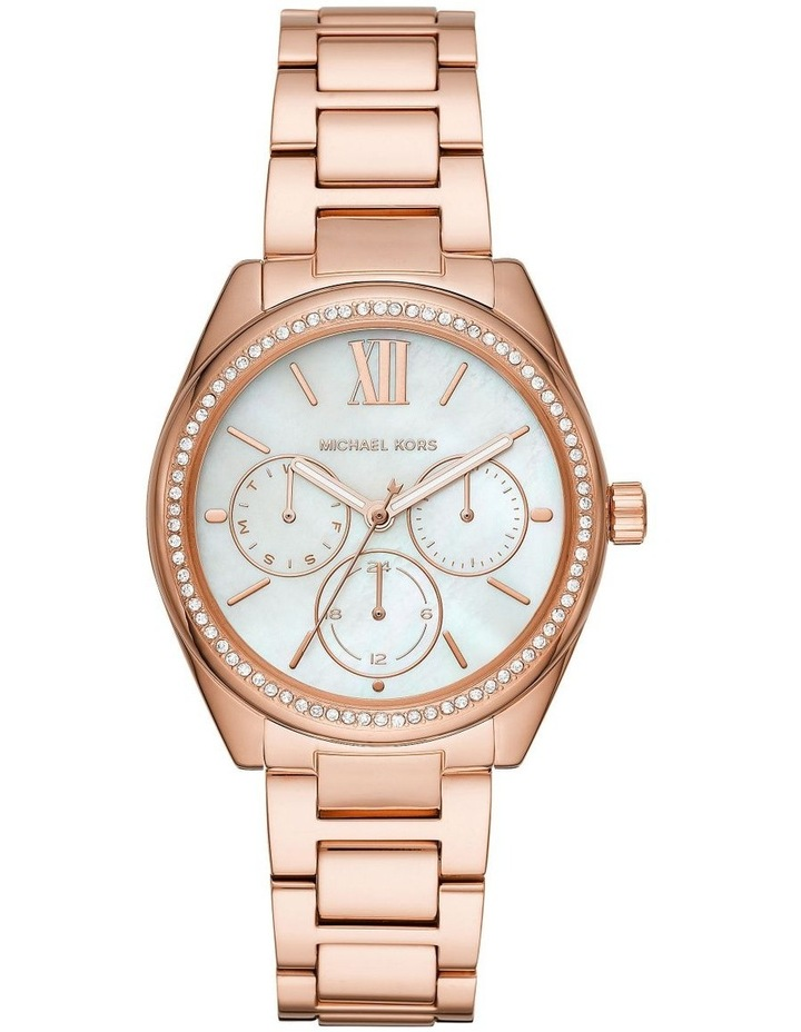 Janelle Rose Gold-Tone Analogue Watch image 1