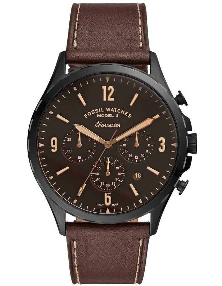 Forrester Brown Chronograph Watch image 1