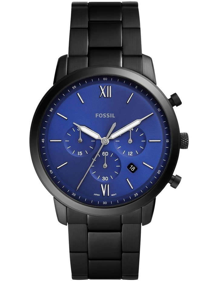 Neutra Black Chronograph Watch image 1