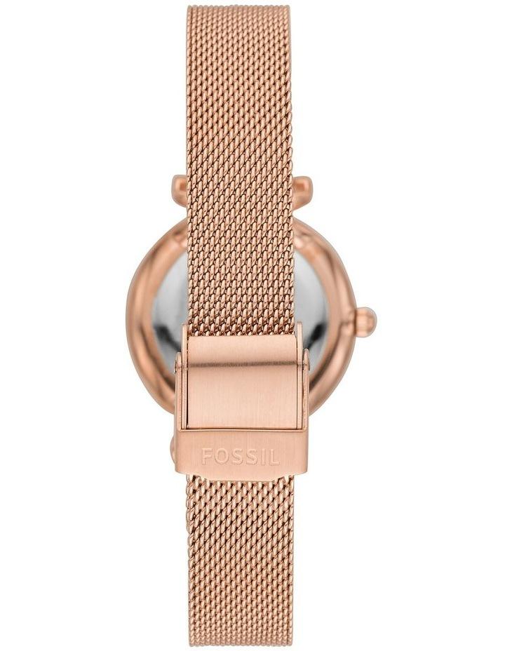 Carlie Mini Rose Gold-Tone Analogue Watch image 2