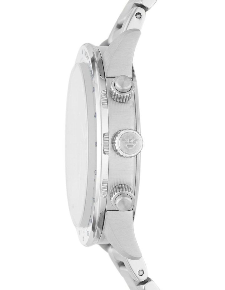 Silver-Tone Chronograph Watch image 3