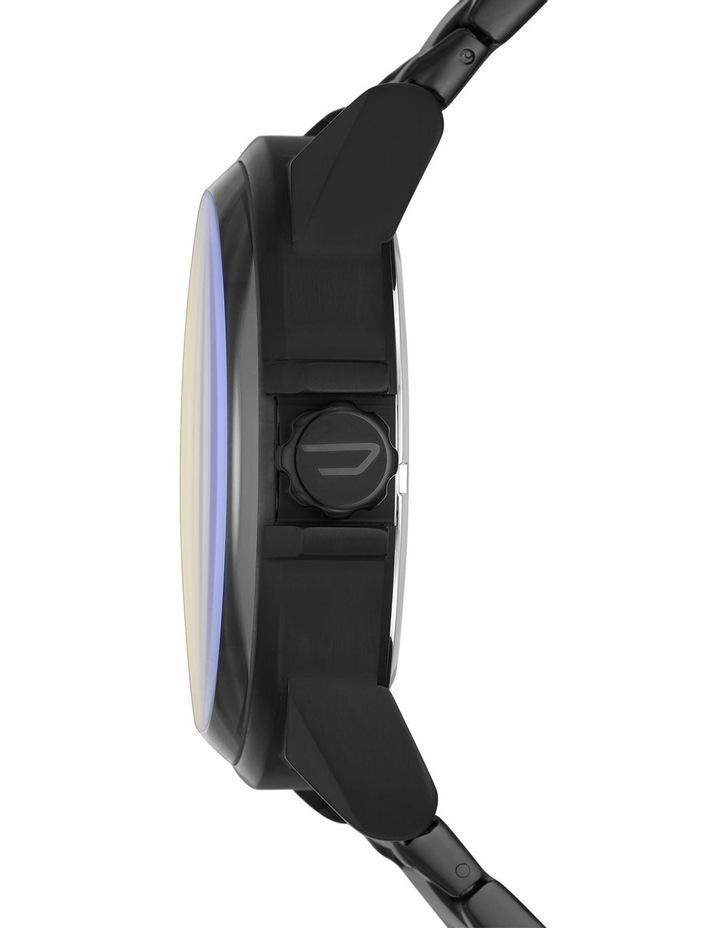 D-48 Black Analogue Watch image 3