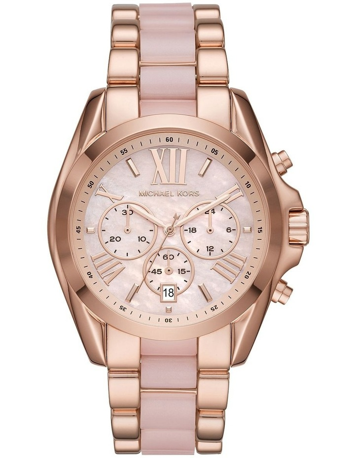 Bradshaw Two-Tone Rose Gold/Pink Stainless Steel Chronograph Watch image 1