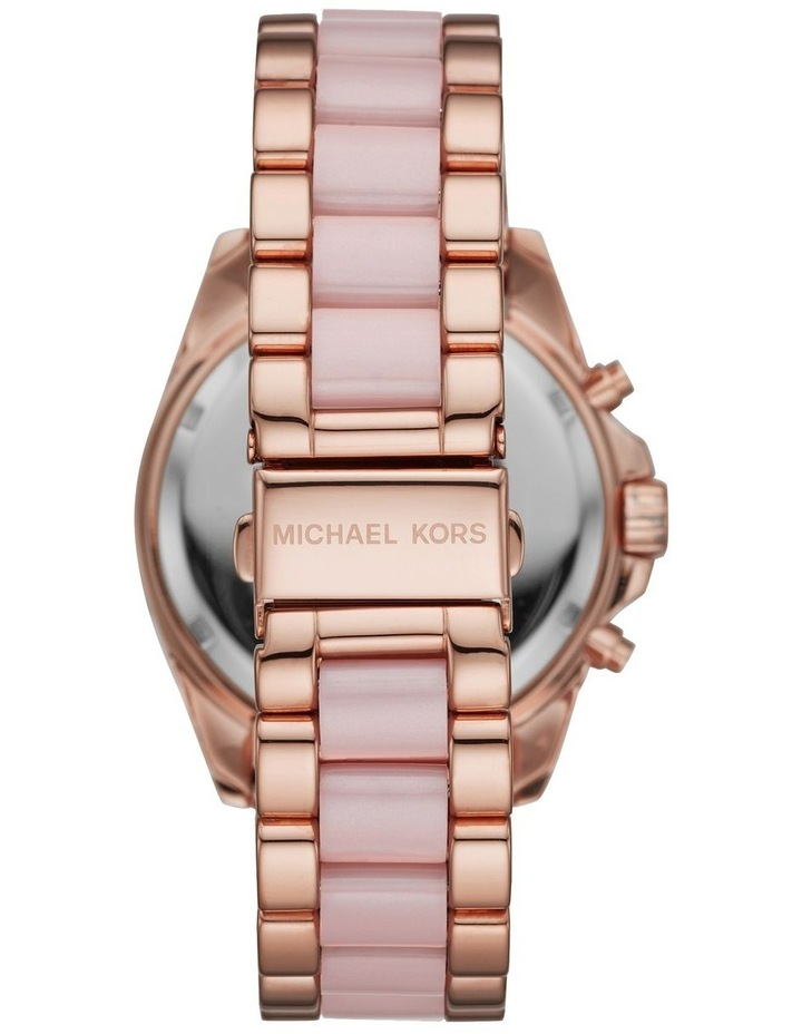 Bradshaw Two-Tone Rose Gold/Pink Stainless Steel Chronograph Watch image 2