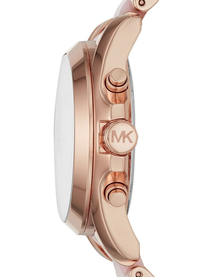 Bradshaw Two-Tone Rose Gold/Pink Stainless Steel Chronograph Watch image 3
