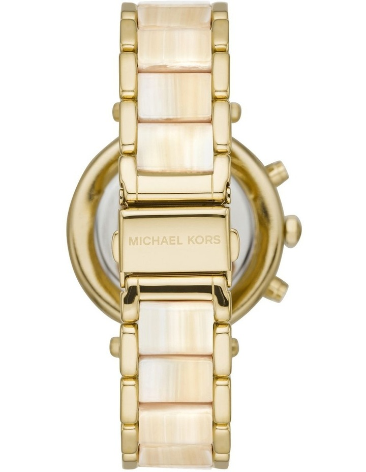 Parker Two Tone Chronograph Watch image 2