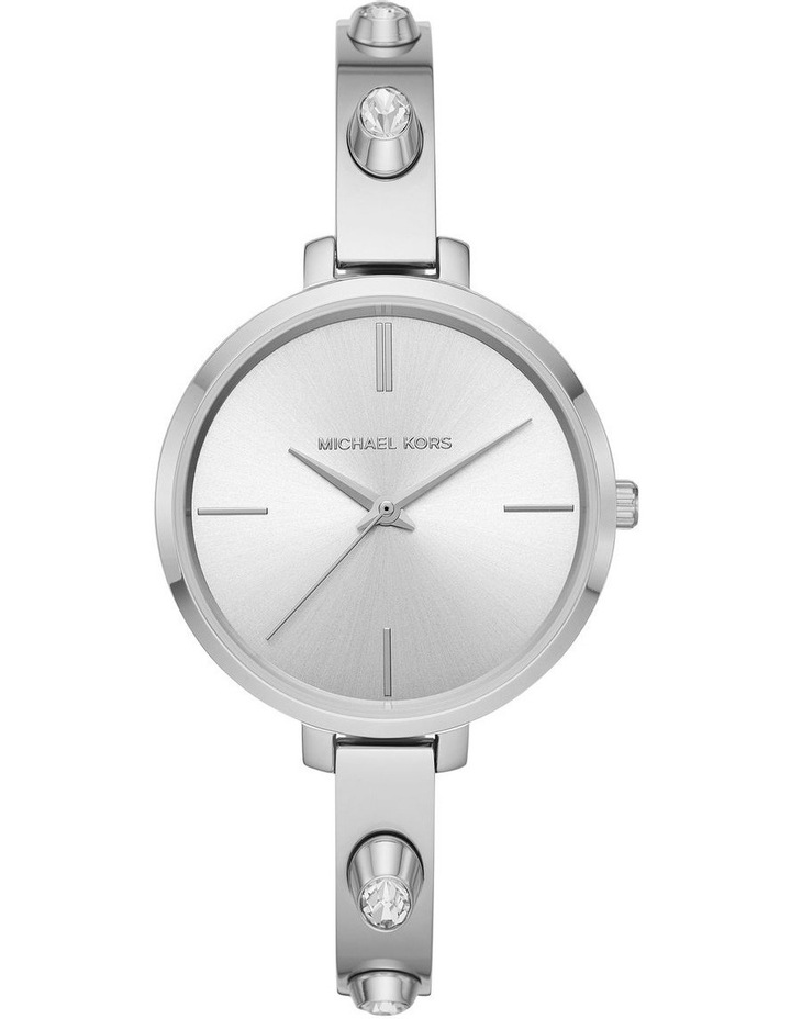Jaryn Silver-Tone Analogue Watch image 1
