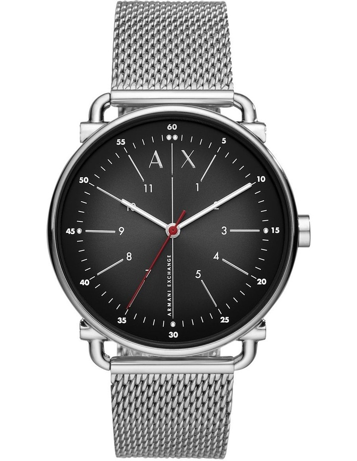 Silver-Tone Analogue Watch image 1