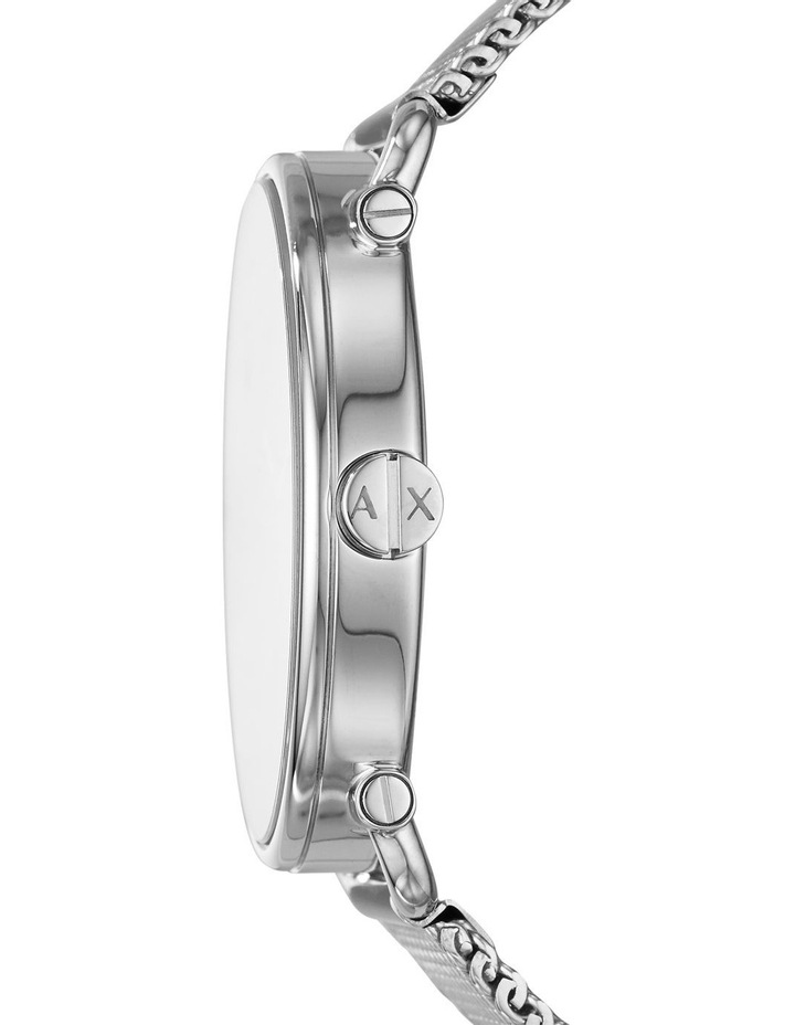 Silver-Tone Analogue Watch image 3