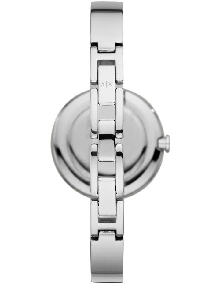 Silver-Tone Analogue Watch image 2