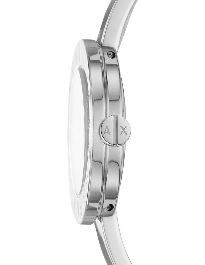 Silver-Tone Analogue Watch image 3
