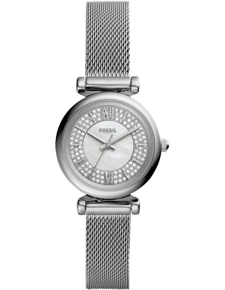 Carlie Mini Silver-Tone Analogue Watch image 1