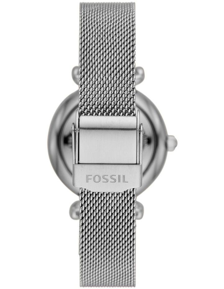 Carlie Mini Silver-Tone Analogue Watch image 2