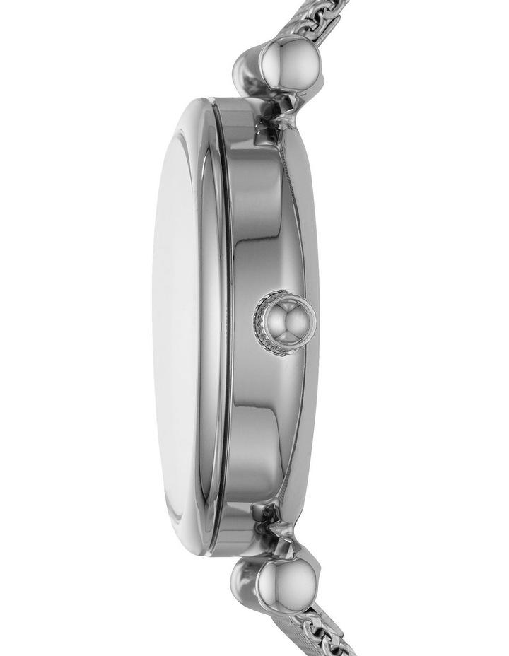 Carlie Mini Silver-Tone Analogue Watch image 3
